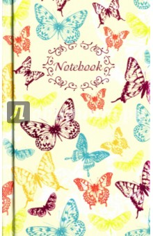 Записная книжка. Бабочки. Ажур. 80 листов. 90х143 мм. (39826-30) феникс записная книжка радужные бабочки