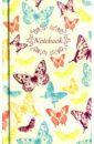 Записная книжка. Бабочки. Ажур. 80 листов. 90х143 мм. (39826-30).