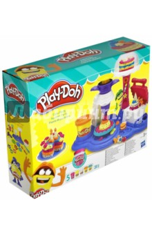 Набор Play-doh Сладкая вечеринка (В3399EU4) hasbro play doh набор из 6 баночек блестящая коллекция с 3 лет