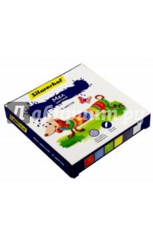 """Мел """"Пластилиновая коллекция"""" (6 цветов) (882081-06) Silwerhof"""