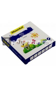 "Мел белый ""Пластилиновая коллекция"", 6 штук (882082-06) Silwerhof"