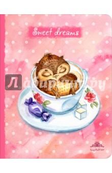 Блокнот Sweet dreams, А5 блокноты эксмо блокнот мой изысканный ангел