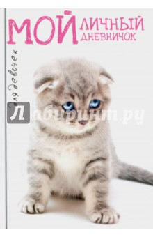 Мой личный дневничок Котик грустный