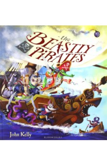 Купить The Beastly Pirates, Bloomsbury, Художественная литература для детей на англ.яз.
