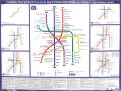Схема петербургского метрополитена. С 1955 года по наши дни