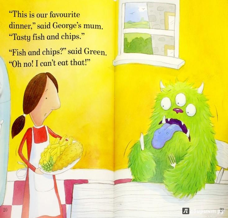 Иллюстрация 1 из 28 для The Monster Next Door - Mandy Ross | Лабиринт - книги. Источник: Лабиринт