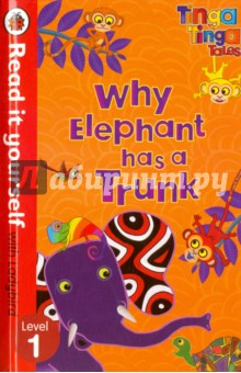 Tinga Tinga Tales. Why Elephant Has A Trunk puzzle 1000 семь леопардов tinga 29427