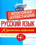Русский язык. Итоговая аттестация. 4 класс. Фонетика. Орфоэпия. ФГОС