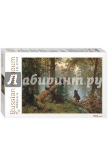 Step Puzzle-1000 И.И. Шишкин. Утро в сосновом лесу (79218) пазл 73 5 x 48 8 1000 элементов printio осенний пейзаж константин коровин