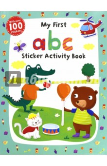 My First ABC Sticker Activity Book two way radio walkie talkie transceiver green