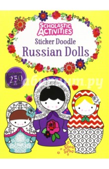 Sticker Doodle Russian Dolls the usborne terrific colouring and sticker book