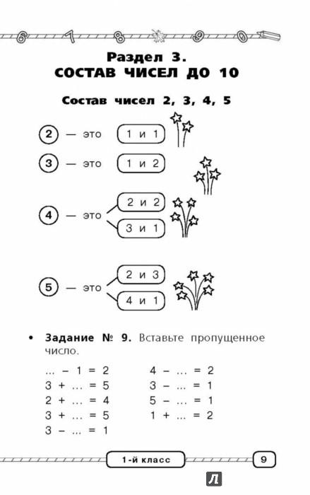 Математика в таблицах и схемах начальная школа