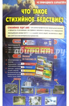Комплект плакатов Гражданская оборона и стихийные бедствия гражданская оборона и стихийные бедствия комплект из 4 плакатов
