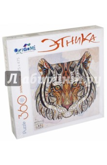 Пазл-360 Арт-терапия Тигр (02349) пазл оригами 360эл 47 5 47 5см серия арт терапия этника кошка