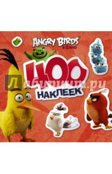 Angry Birds. 400 наклеек (красный) angry birds 400 наклеек зеленый