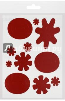 Световозвращающий стикер Арт красный (15х20, набор) мамасвет световозвращающий стикер стрелки цвет синий