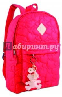 Рюкзак молодежный АЛЫЙ (40838)