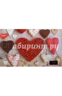 Накладка на стол Hearts (43х29см) (HS16-DPL) фартук накидка для детского творчества proff феечки цвет бирюзовый синий