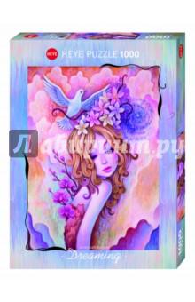 Puzzle-1000 Девушка-весна (29711) пазлы crystal puzzle 3d головоломка вулкан 40 деталей
