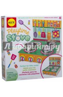 Кухонная плита, деревянная (704) alex alex посуда игрушечная chasing butterflies ceramic tea set поймай бабочку 13 предметов