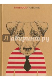 Записная книжка Пес, А5 (00897) записная книжка а6 10 14см 46л клетка anan the lonely wolf картонная обложка на сшивке