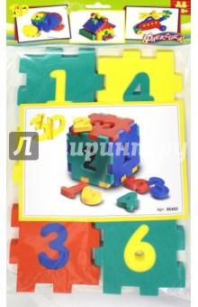 Конструктор мягкий с цифрами (45402)