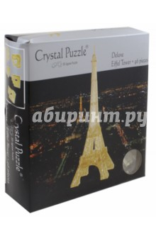 3D головоломка Эйфелева башня (91107) пазлы crystal puzzle 3d головоломка эйфелева башня 96 деталей