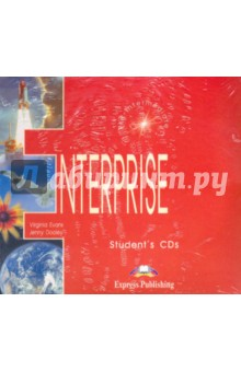 Enterprise 3. Student's Audio Pre-Intermediate. Для работы дома (2CD) virginia evans jenny dooley enterprise plus pre intermediate my language portfolio