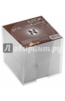 Блок для записей в стакане, 9х9х9 см (БЛ109ст)