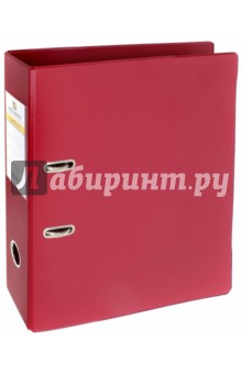 Папка-регистратор (70 мм, бордовая) (222653).