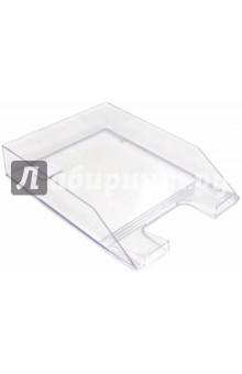 Лоток горизонтальный для бумаг, прозрачный (ЛТ852)