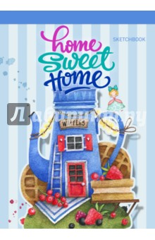 Блокнот Home sweet home! Waffles, А5 блокнот home sweet home ice cream а5