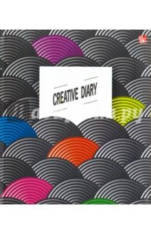 Ежедневник для творчества Яркие акценты, недатированный (ЕЖИ17512801) записные книжки канц эксмо книга для записей офисный стиль яркие акценты