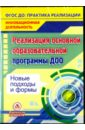 Обложка Реализация основной образовательной программы ДОО. Новые подходы и формы (CD)