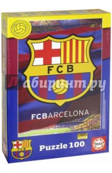 Пазл-100 ФК Барселона (15345) educa пазл барселона фк 2014 2015 коллаж 1000 деталей