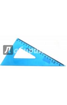 Треугольник пластмассовый прозрачный (30°, 18 см) (ТК49) СТАММ
