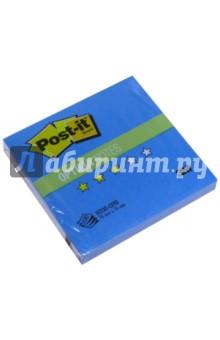 Блок самоклеящийся  голубой пастель (76х76 мм, 100 листов) (R330-OPB блок самоклеящийся бумажный 3m post it optima зима 654 ops 7100041129 76x76мм 100лист пастель сереб