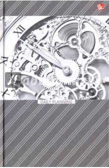 """Ежедневник недатированный """"Офисный стиль. Время"""" (твердая обложка, А5) (ЕЖ17511202)"""