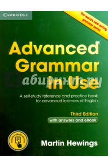 Advanced Grammar in Use with Answers and eBook. A Self-study Reference and Practictice Book gear j gear r grammar and vocabulary for the toeic test with answers self study grammar and vocabbulary reference and practice 2cd