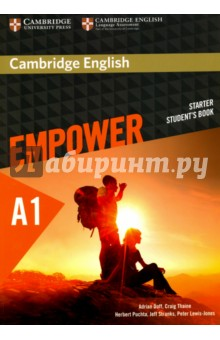 Cambridge English Empower. Starter Student's Book. A1 cambridge english empower starter workbook no answers downloadable audio