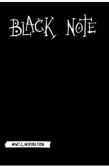 Black Note. Креативный блокнот с черными страницами silver note креативный блокнот с серебряными страницами мяг обл а5 192 стр