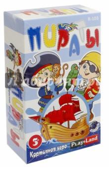 Карточная игра Пираты (R-103) геменот настольная игра пираты 7 морей