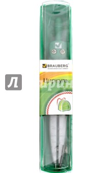 Циркуль в пластиковом пенале, 115 мм. (210313)