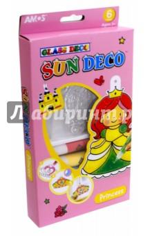 Набор витражных красок с витражами ПРИНЦЕССА (22907) набор витражных красок с витражами мобиле 10 цветов 22250