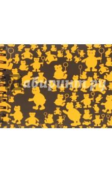 Блокнот Оранжевые мишки (40 листов,145х180) (БЛ-3470)
