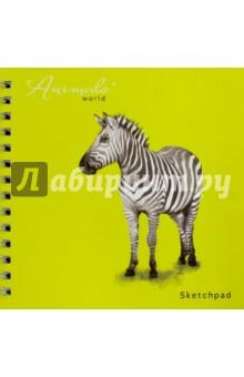 Альбом для эскизов Животные. 80 листов. На спирали (43132) животные антистресс альбом