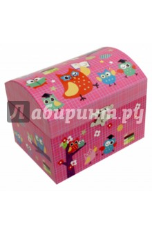 Шкатулка музыкальная Совы (40000(40047JK) музыкальная шкатулка jakos балерина цвет бежевый розовый