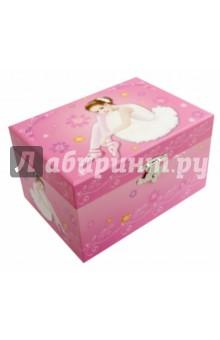 Шкатулка музык Балерина с пуантами (50000(50113) музыкальная шкатулка jakos балерина цвет розовый