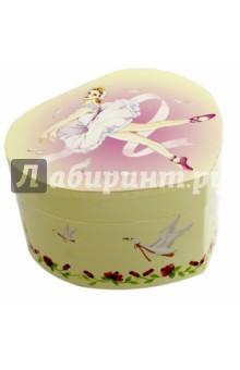 Шкатулка музыкальная Балерина и гуси (30000(30188) музыкальная шкатулка jakos балерина цвет бежевый розовый