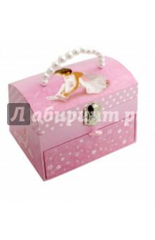 Шкатулка музыкальная Сидящая Балерина (62400(624936) jakos музыкальная шкатулка феи в листьях